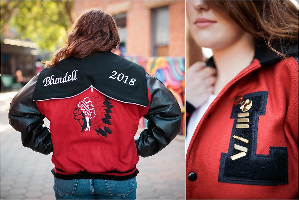 Letter jacket senior Loveland