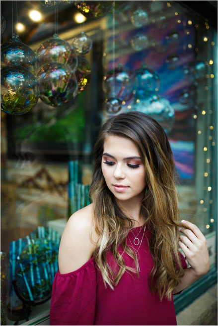 Fort Collins Senior Photographer / Aysia's Estes Park session – Poudre High School