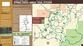 Spring Creek Horse Trail Map
