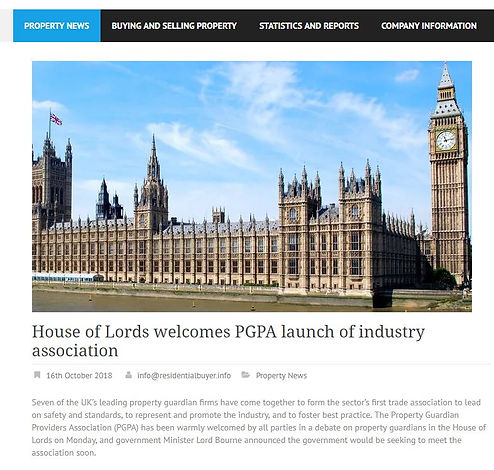 House of Lords welcomes PGPA.JPG