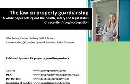 The Law on Property Guardianship Cover P