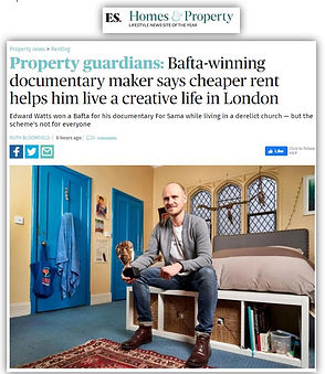 Evening Standard Property Guardian Bafta