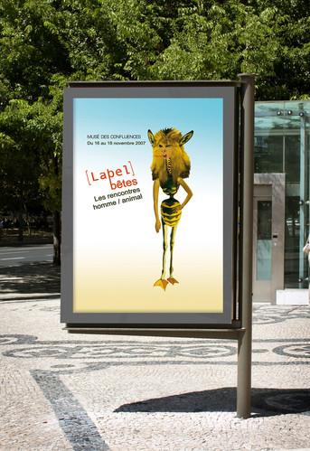 Exposition Label Bête