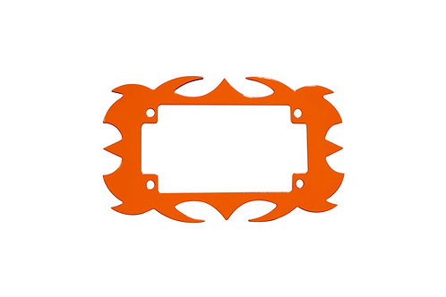 Plate Surround Orange