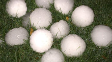 Baseball Sized hail repelled by Legacy® Shingles During Spring Storm in Kansas City