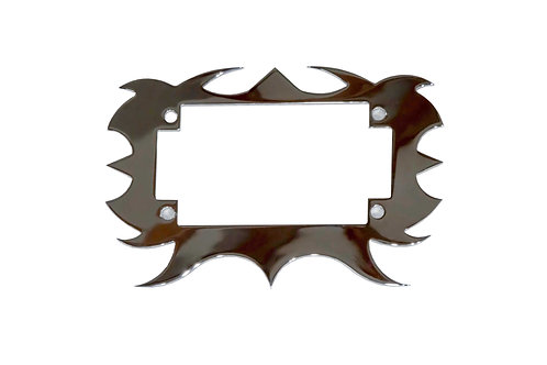 Plate Surround 3 Chrome