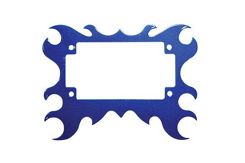 Plate Surround 2 Metallic Blue