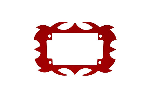 Plate Surround Red