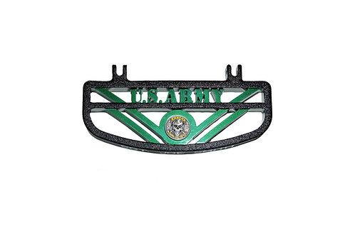 US Army Foot Board Black/Green