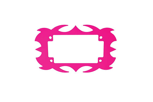 Plate Surround Pink