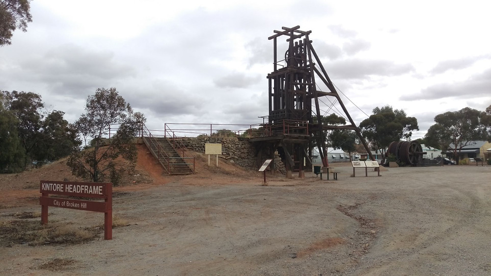 Broken Hill Mine Shaft