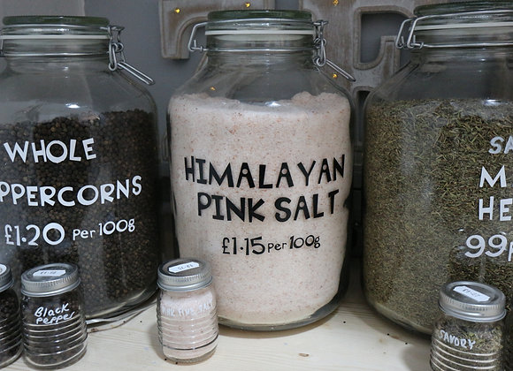 Fine Himalayan Pink Salt per 100g