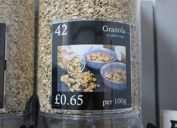 Granola (basic) per 100g