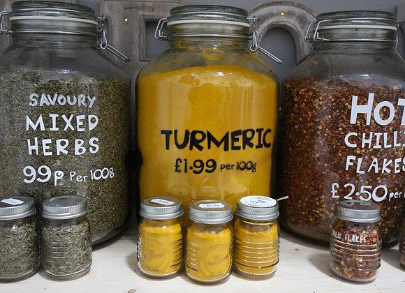 Turmeric per 100g