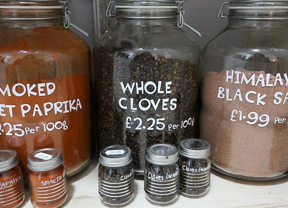 Whole Cloves per 100g