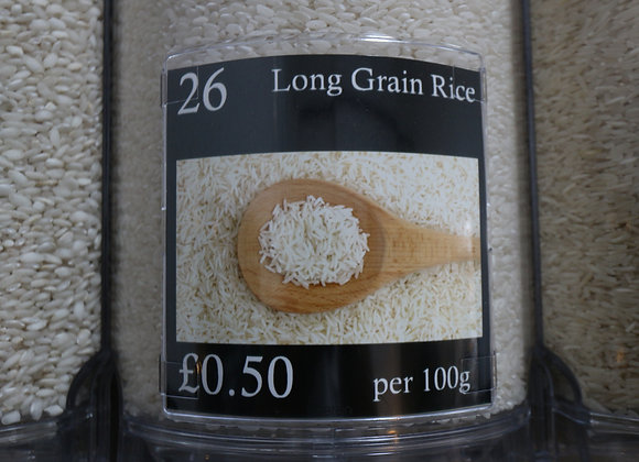 Long Grain Rice (White)