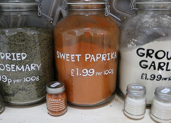 Sweet Paprika per 100g