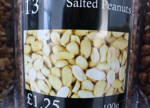 Salted Peanuts per 100g