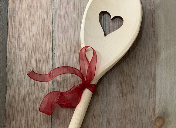 Love Heart Wooden Spoon