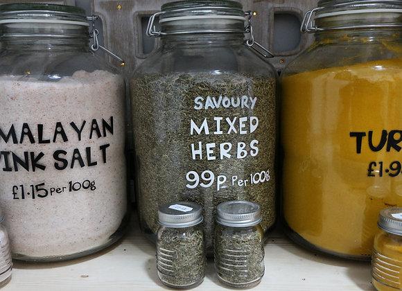 Savoury Mixed Herbs per 100g