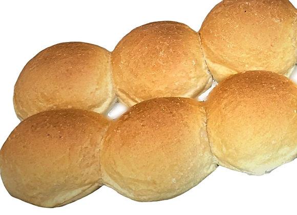Bread Rolls X 6 soft or crusty