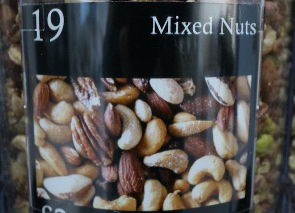 Mixed Nuts (no peanuts) per 100g