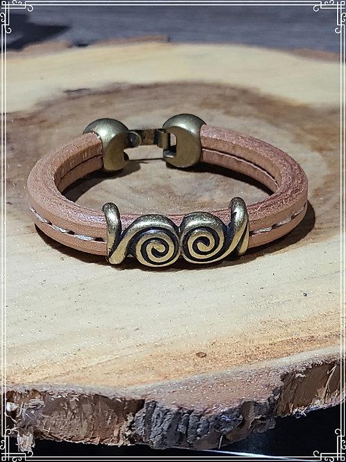 Leather Braceler