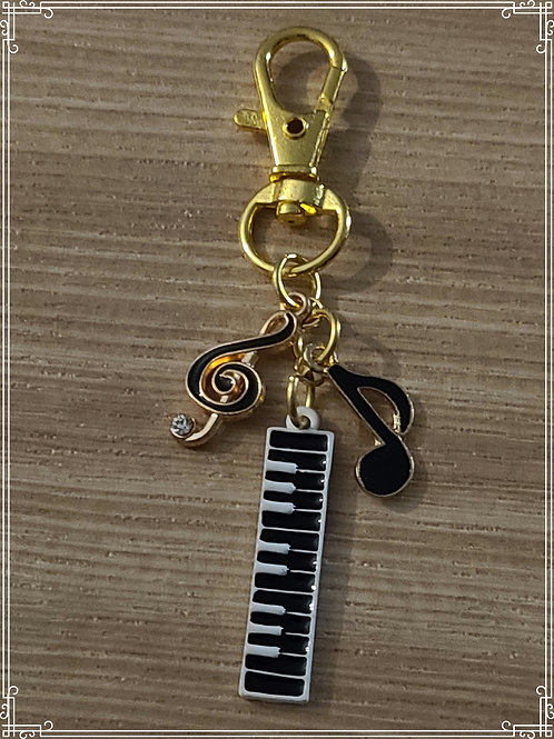 "Purse Charms ""Music"""