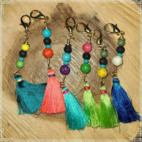 Essential Oil Purse Charms