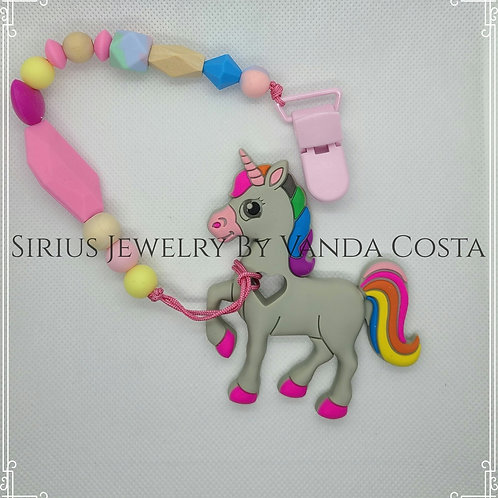 Unicorn twething/sensory toy