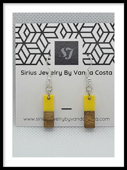Wood & Resin Earrings