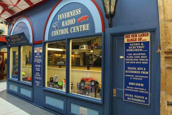 Unit 16 - former Inverness Model Shop