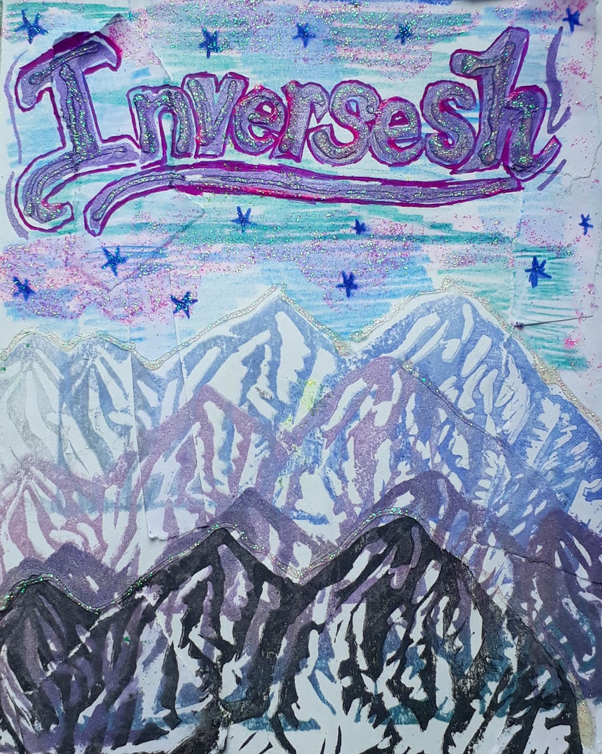 Hester Grant - Inversesh zine cover