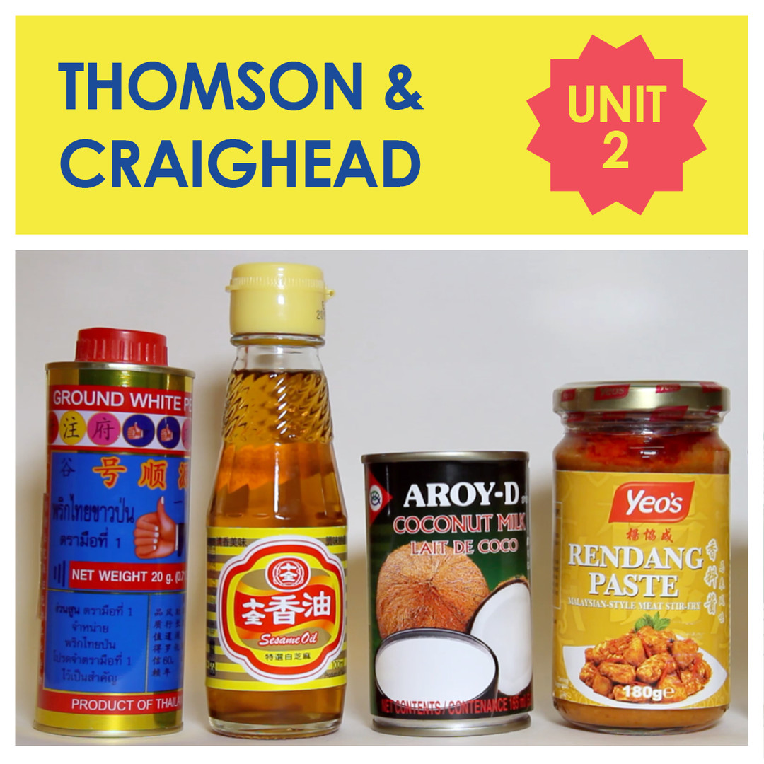 Unit 2 - Thomson + Craighead