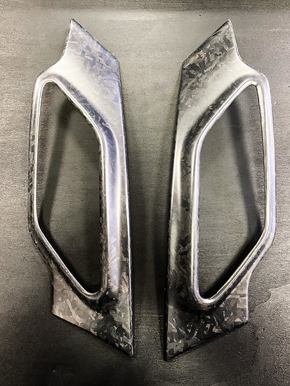 Side Scuttle Forged Carbon - MINI R60/R61