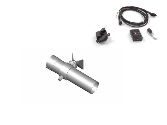 RAGAZZON Exhaust - Gr.N outlet pipe with valve for MINI GP3