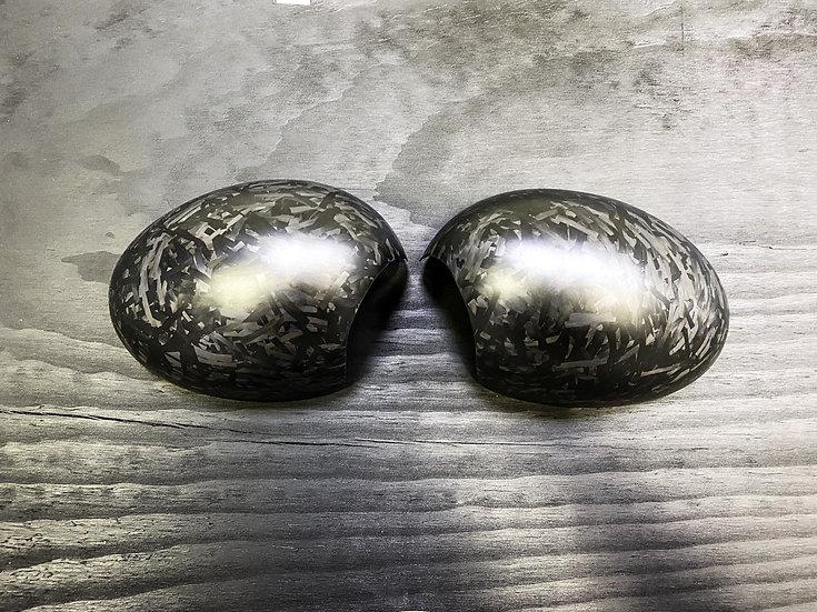 Side Mirror Caps Forged Carbon - MINI R55/R56/R57/R58/R60/R61