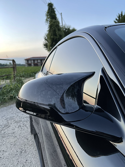 Side Mirror Caps Forged Carbon - BMW F87 M2 & M2C