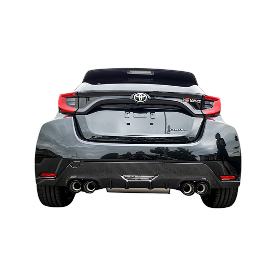 Rear Extractor Carbon 4 exhaust pipes - Toyota GR Yaris