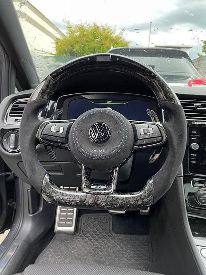 Steering Wheel Custom Forged Carbon - VW Golf Mk 7 / 7.5