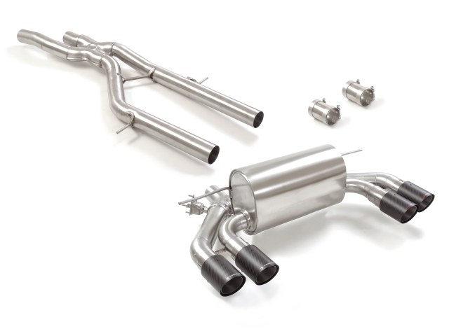 RAGAZZON Exhaust - Valved Perf. Oversized  F87 Coupè CS 3.0 (331kW)