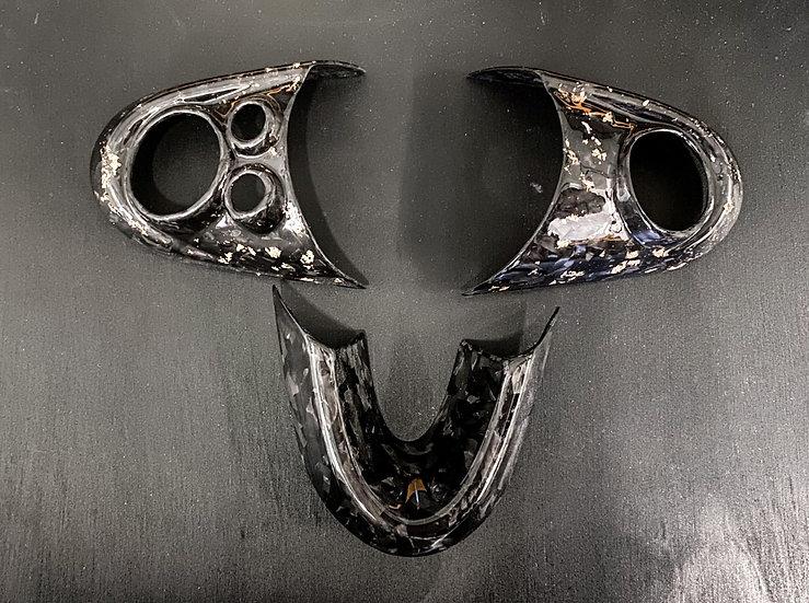 Steering Wheel Trims Forged Carbon - MINI F55/F56/F57/F60/GP3