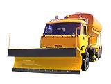 Компбиированная дорожная машина КДМ