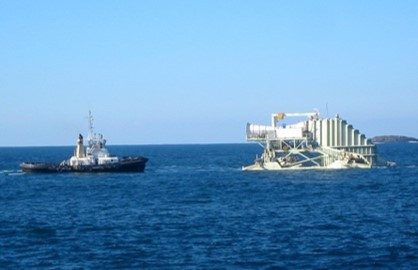 2005 marine deployment of aquaWAVE™ scale device
