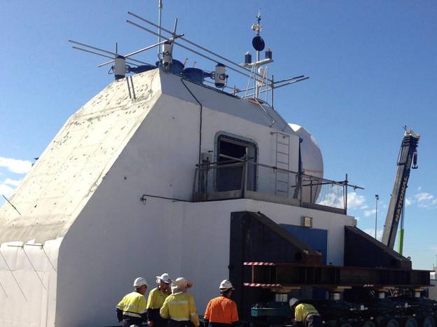 2013 Full scale aquaWAVE™ PTO construction
