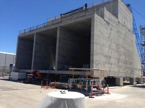 2013 concrete foundation construction