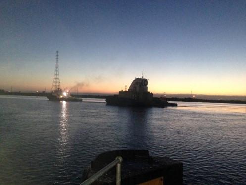 2014 sea transportation of aquaWAVE full scale device