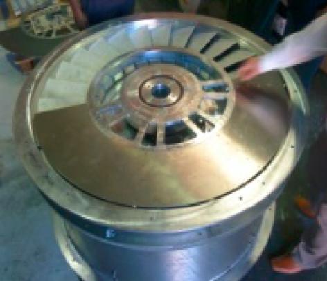 1st generation turbine build