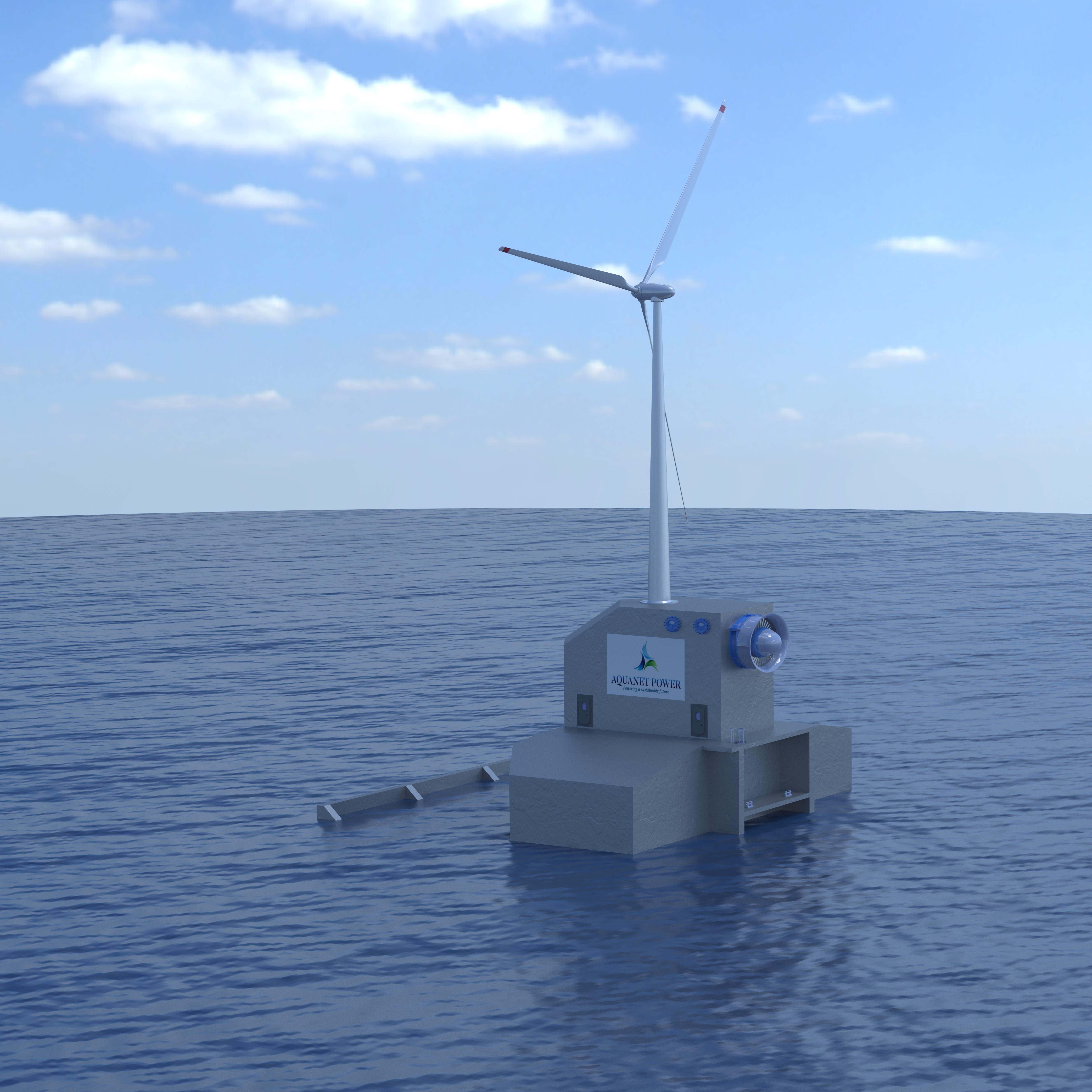 Wave & Wind Platform