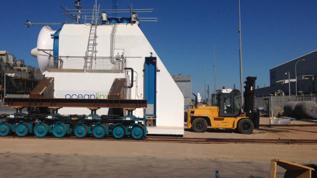 2013 Skid mounting PTO onto OWC